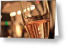 Sparkling Bubbles 1 Greeting Card