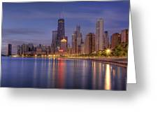 Sparkling Chicago  Greeting Card