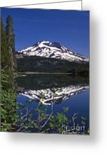 Sparks Lake Reflection Greeting Card