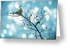 Sparrow In A Branch Greeting Card