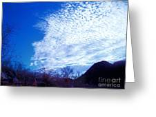 Speckled Sky Greeting Card