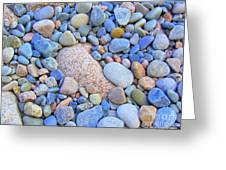 Speckled Stones Greeting Card