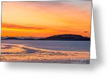 Spectacle Island Sunrise Greeting Card