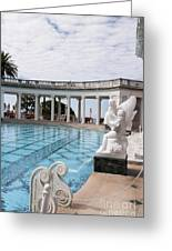 Spectacular Pool Greeting Card