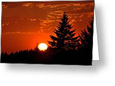 Spectacular Sunset IIl Greeting Card