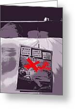 Spectators  Circus Tent Auction Adolf Hitler's 1941 Mercedes  Scottsdale Arizona 1973-2009 Greeting Card