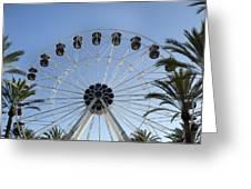 Spectrum Center Ferris Wheel In Irvine Greeting Card