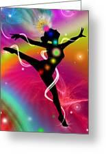 Spectrumdancer Greeting Card