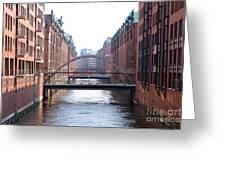 Speicherstadt Hamburg Greeting Card