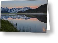 Spencer Galcier Sunrise Greeting Card by Tim Grams