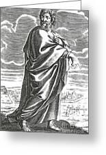 Speusippus, Ancient Greek Philosopher Greeting Card