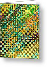 Spex Future Abstract Art Greeting Card