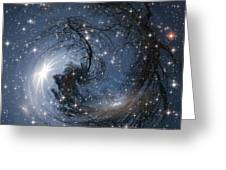 Sphere Of Reality Greeting Card