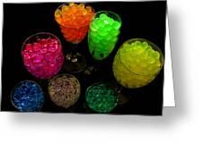 Spherical Polymer Gel 2 Greeting Card