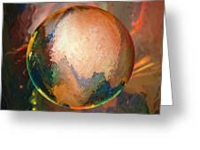 Sphering Lunar Vibrations Greeting Card