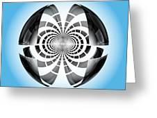 Spheroid Greeting Card