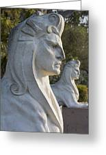 Sphinxes Greeting Card