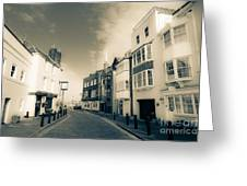 Spice Island Old Portsmouth. Greeting Card