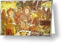 Spice Sellers Of Yugoslavia Greeting Card