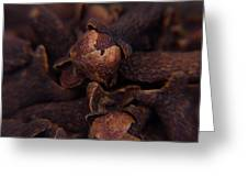 Spicy Close-ups Cloves Greeting Card