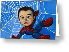 Spider-man Alan Greeting Card