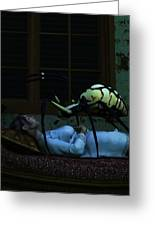 Spider Nightmare Greeting Card