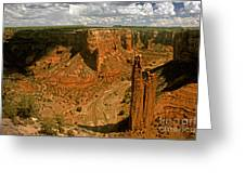 Spider Rock - Canyon De Chelly Greeting Card