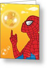 Spiderman 3 Greeting Card
