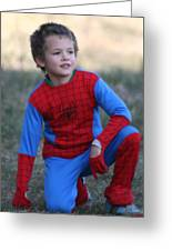 Well Done Spiderman Greeting Card