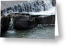 Spillway Pano Greeting Card