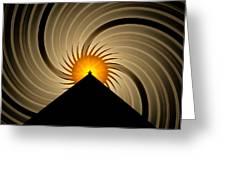 Spin Art Greeting Card