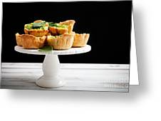 Spinach Pie Greeting Card