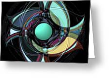 Spinners 5 Greeting Card
