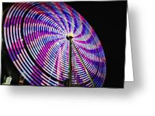 Spinning Disk Greeting Card