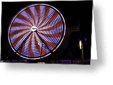 Spinning Ferris Wheel Greeting Card