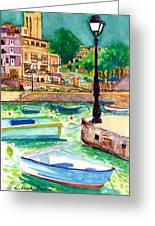 Spinola Bay Plein Air Greeting Card
