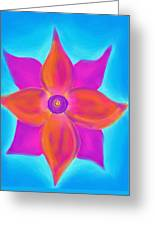 Spiral Flower Greeting Card