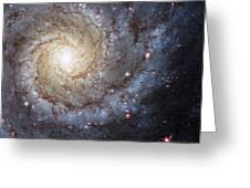 Spiral Galaxy M74 Greeting Card