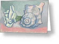 Spiral Notlookalikes Greeting Card