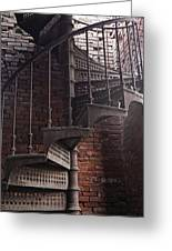 Spiral Staircase Depot Greeting Card
