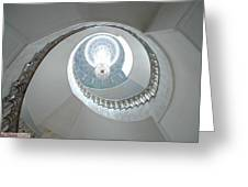 Spiral Staircase Greeting Card by Sharla Fossen