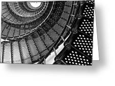 Spiral Steps Greeting Card