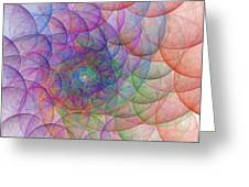 Spirale Greeting Card