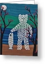 Spirit Bear Bella Coola Greeting Card