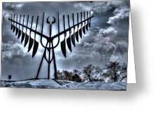 Spirit Catcher Storm Greeting Card
