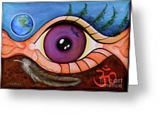 Spirit Eye Greeting Card