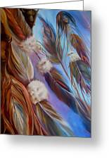Spirit Feathers Greeting Card
