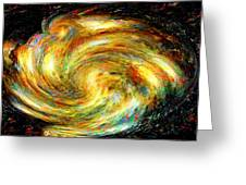 Spirit-fire Of Creation Bang Redemption Greeting Card by Rebecca Phillips