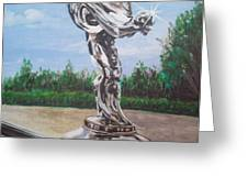 Spirit Of Ecstasy Greeting Card