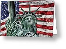 Spirit Of Freedom Greeting Card